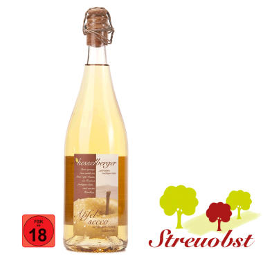 0,75 Liter Apfel-Secco, halbtrocken