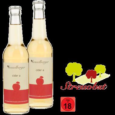 cider a - 2 mal 0,33 Liter Longneck-Glasflasche