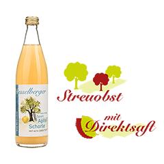 "0,5 Liter Apfel-Schorle ""Sport"""