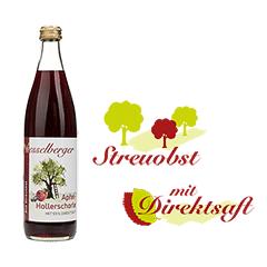 0,5 Liter Apfel-Holunder-Schorle