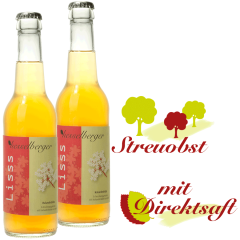 2 mal 0,33 Liter Lisss Holunderblüte Limonade