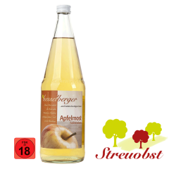 1 Liter Apfelmost, halbtrocken
