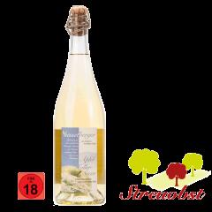 0,75 Liter Apfel-Holler-Secco, halbtrocken