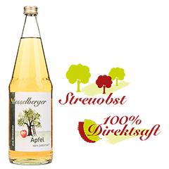 1 Liter Apfel-Direktsaft, klar