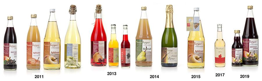 Prämierte Produkte seit 2011